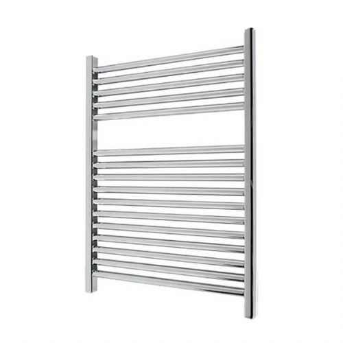 Abacus Elegance Linea Straight Towel Rail - 750mm x 480mm - Chrome